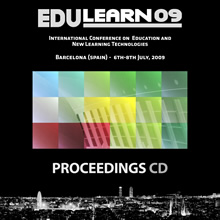 edulearn09 proceedings cd