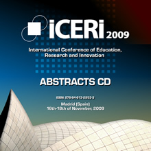 Iceri2009 abstracts cd