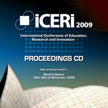 Iceri2009 proceedings cd