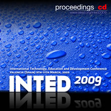 inted2009 proceedings cd