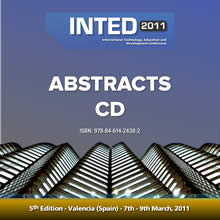 INTED2011 abstracts CD