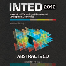 inted2012 abstracts cd