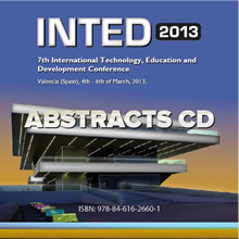 inted2013 abstracts cd
