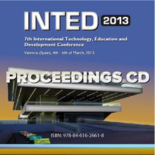INTED2013 Proceedings CD